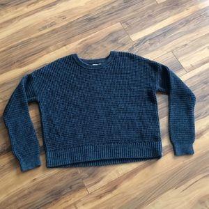 Banana Republic Blue Heavy Knit Sweater